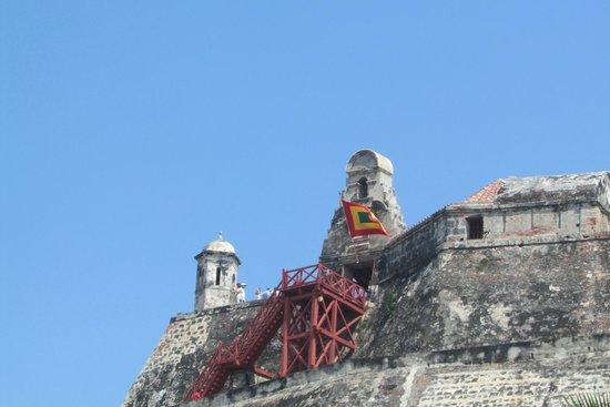 Château de San Felipe de Barajas : hermoso