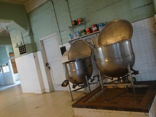 Alcatraz: Cozinha do presídio