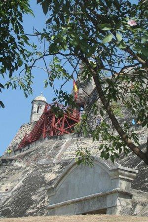 Château de San Felipe de Barajas : imponente