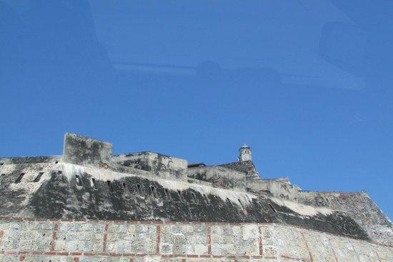 Château de San Felipe de Barajas : con un sol