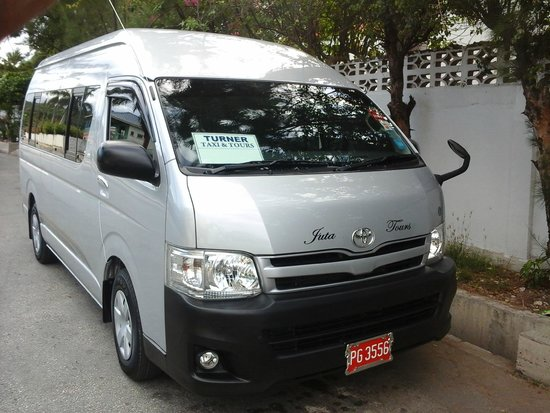 Turner Taxis and Tours Jamaica: our newest van