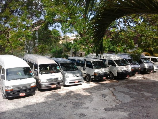Turner Taxis and Tours Jamaica: the crew