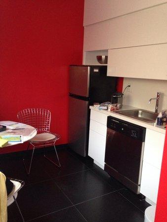 Blanc Kara Boutique Hotel : cucina