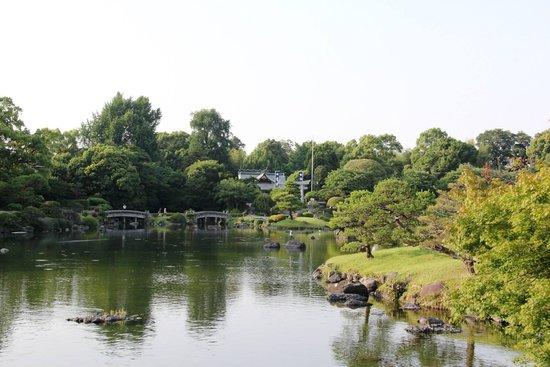 Suizenji Jojuen Garden : scenic