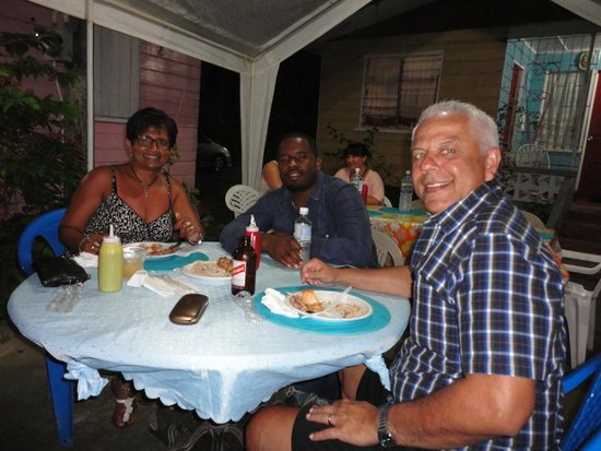 Turner Taxis and Tours Jamaica: Carlton with clients
