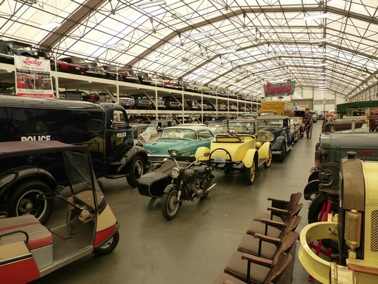 LeMay Museum at Marymount: main warehouse