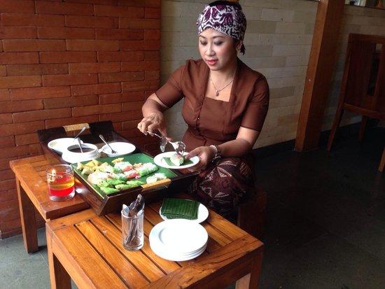 Hotel Horison Seminyak: Traditional Indonesia desert
