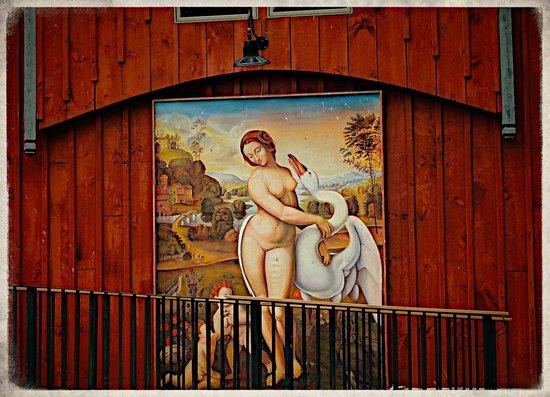 Buttermilk Falls Inn & Spa : The Barn
