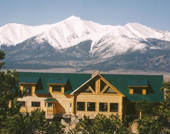 Liars' Lodge: Lodge, Mt. Princeton in the background