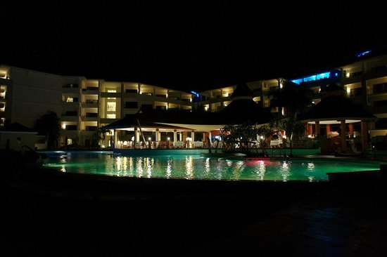 Secrets St. James Montego Bay: Pool at Night