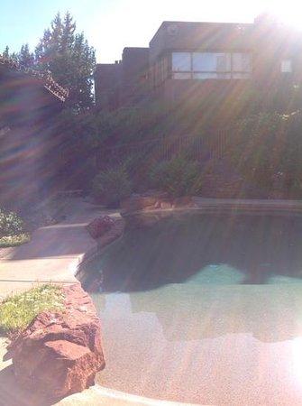 Adobe Grand Villas: pool and villas