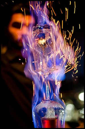 Lux Lounge: Lux On Fire - our most popular flaming shot