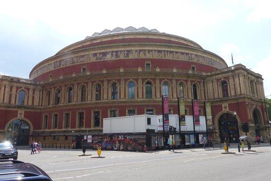 Royal Albert Hall - across from Hyde Park