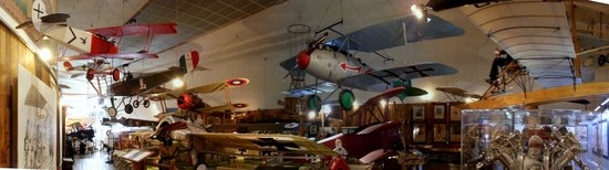 San Diego Air & Space Museum: WWI Aircraft Display