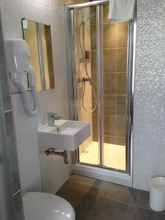 Hotel des Pavillons: bathroom