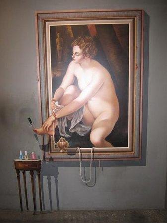 Trickeye Museum : 페디쿠어...ㅋㅋㅋ