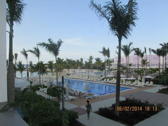 Hotel Riu Palace Jamaica : view from our room