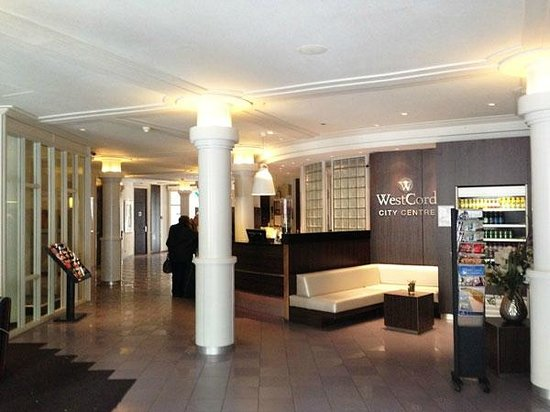 WestCord City Centre Hotel Amsterdam: Hotel Reception