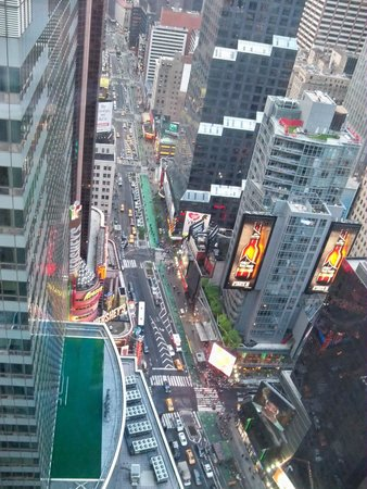 W New York - Times Square: View from 52nd floor room