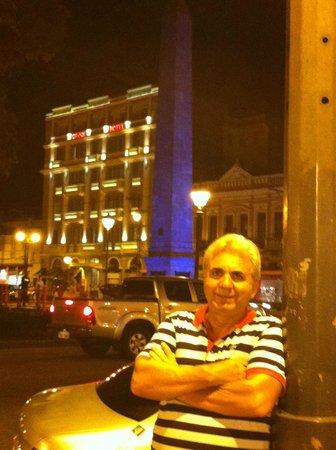 Grande Hotel Petrópolis: Vista da fachada hotel