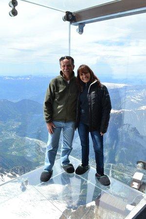 Aiguille du Midi: caja de cristal a 4000 mts. d ealtura