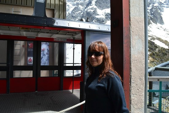 Aiguille du Midi: medios de elevaciòn