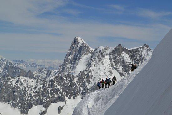 Aiguille du Midi: alpes