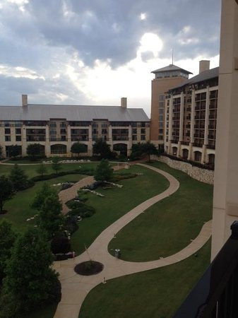JW Marriott San Antonio Hill Country Resort & Spa : The view from our balcony