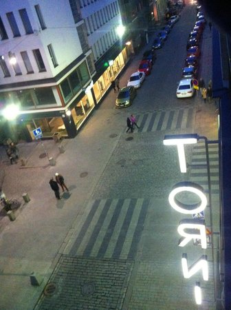 Solo Sokos Hotel Torni : View from the suite