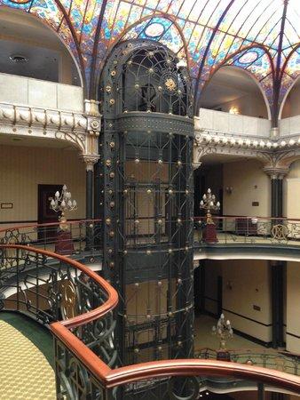 Gran Hotel Ciudad de Mexico: Interior View on the Third Floor