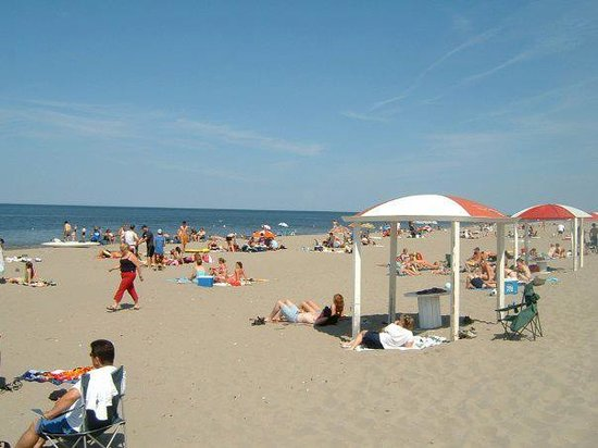 New Brunswick, Canada: Beautiful sandy beach for day use