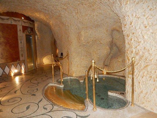 Hotel Villa & Palazzo Aminta: The Grotta - great spa