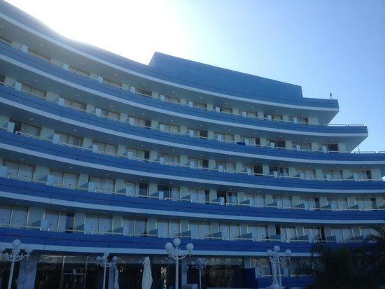 Mediterranean Palace Hotel: Main building from terrace