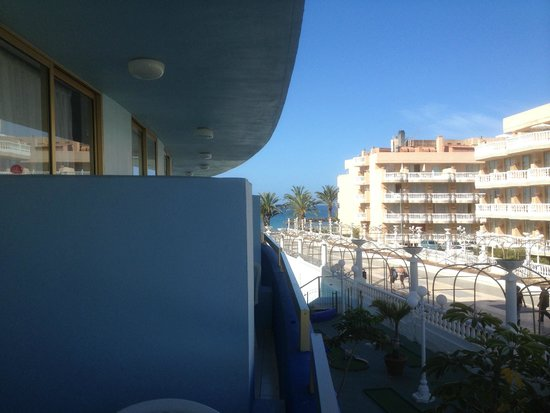 Mediterranean Palace Hotel: Room view