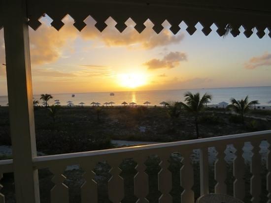 Club Med Columbus Isle : coucher de soleil , vue de la chambre
