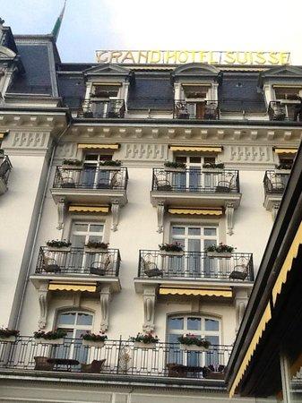 Grand Hotel Suisse Majestic : Fachada del Suisse Magestic