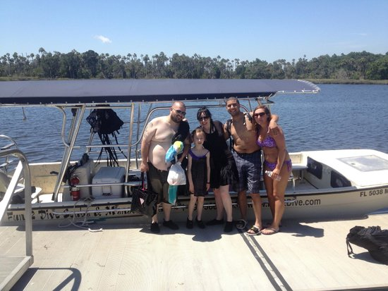 Fun 2 Dive Manatee Tours: our group