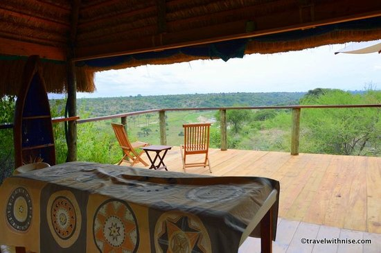 Tarangire Safari Lodge: Outdoor Massage & Yoga Room