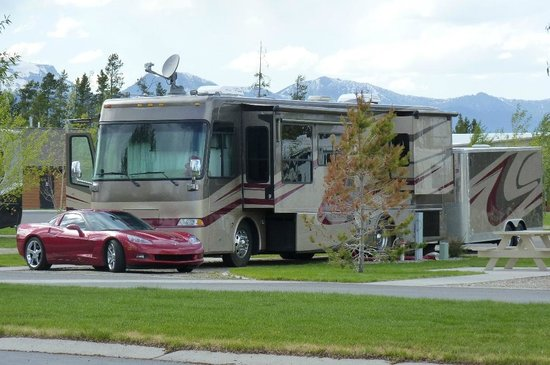 Yellowstone Grizzly RV Park: Neighbor