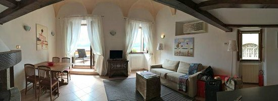 Albergo Milano: living room