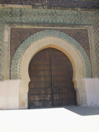 Main door, Bab Mansour gate