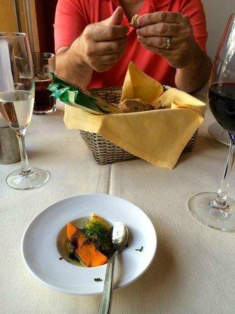 Albergo Milano Hotel & Apartments: dinner