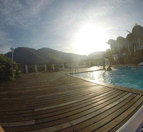 Portogalo Suite Hotel: Deck