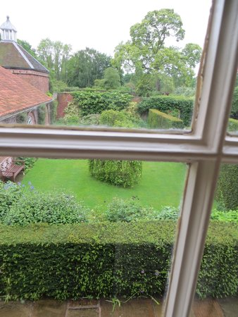 Middlethorpe Hall & Spa: view of garden from window