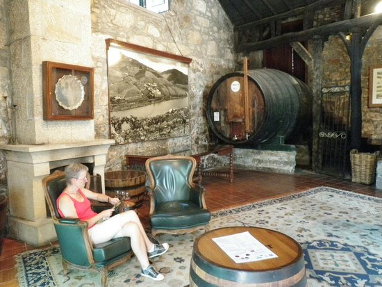 Croft Port Wine Lodges: Great Tasting Room