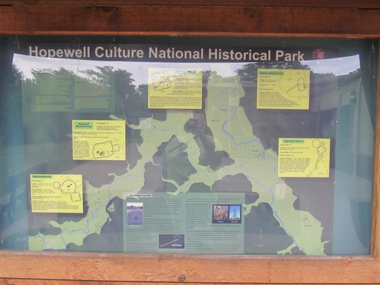 Hopewell Culture National Historical Park: Mound sites