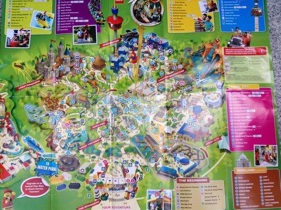 The map Picture of Legoland Malaysia Johor Bahru TripAdvisor