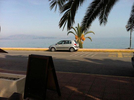 Hotel Magna Graecia: Ipsos beach - a view form the Tiffany's English Bar