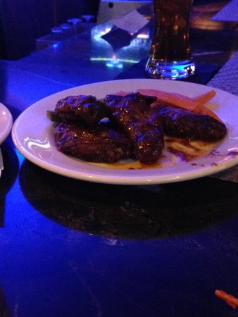 Chipotle Peanut Butter Wings - Picture of Kd's, Oklahoma City ...
