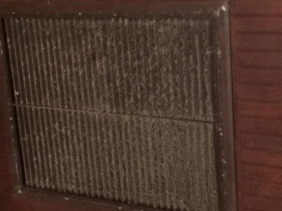 The Lodge: Air vent